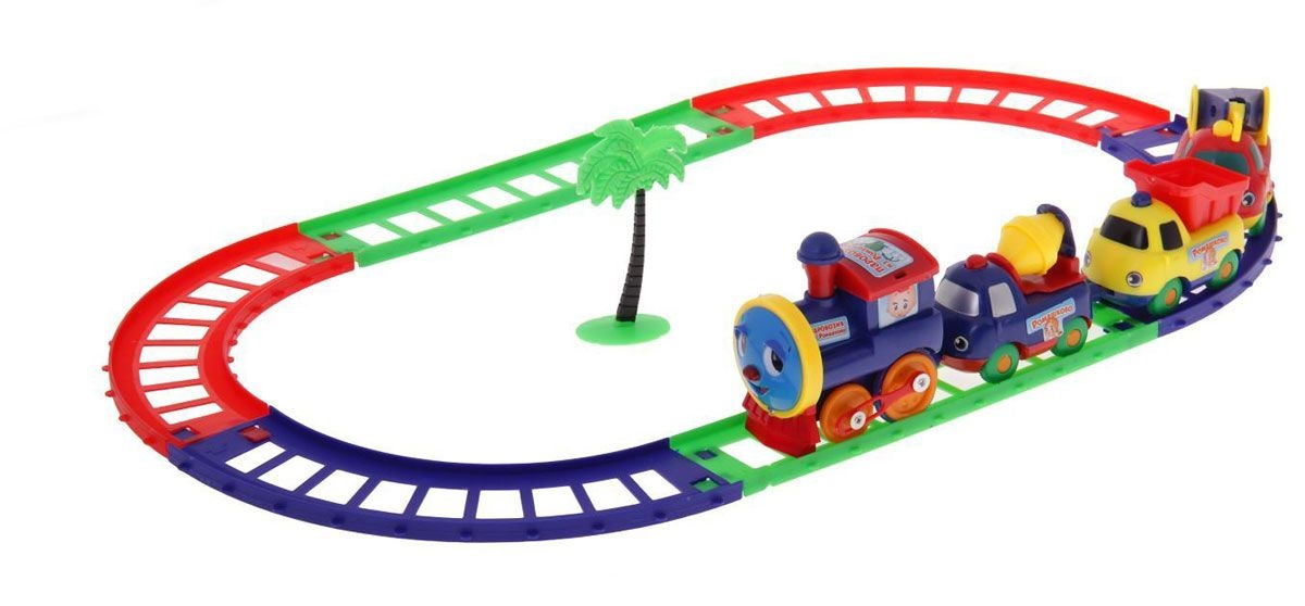 Железная дорога - Паровозик из РомашковаЖелезная дорога для малышей<br>Железная дорога - Паровозик из Ромашкова<br>