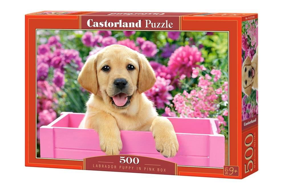 Пазл Castorland 500 деталей Щенок в коробкеПазлы<br>Пазл Castorland 500 деталей Щенок в коробке<br>