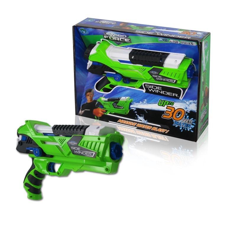 Водное оружие Hydro Force Side Winder со съёмным картриджемВодяные пистолеты<br>Водное оружие Hydro Force Side Winder со съёмным картриджем<br>
