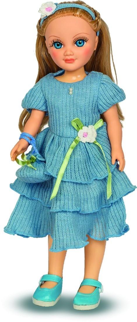 Кукла Анастасия Голубой ажур, озвученная, 42 см.Русские куклы фабрики Весна<br>Кукла Анастасия Голубой ажур, озвученная, 42 см.<br>