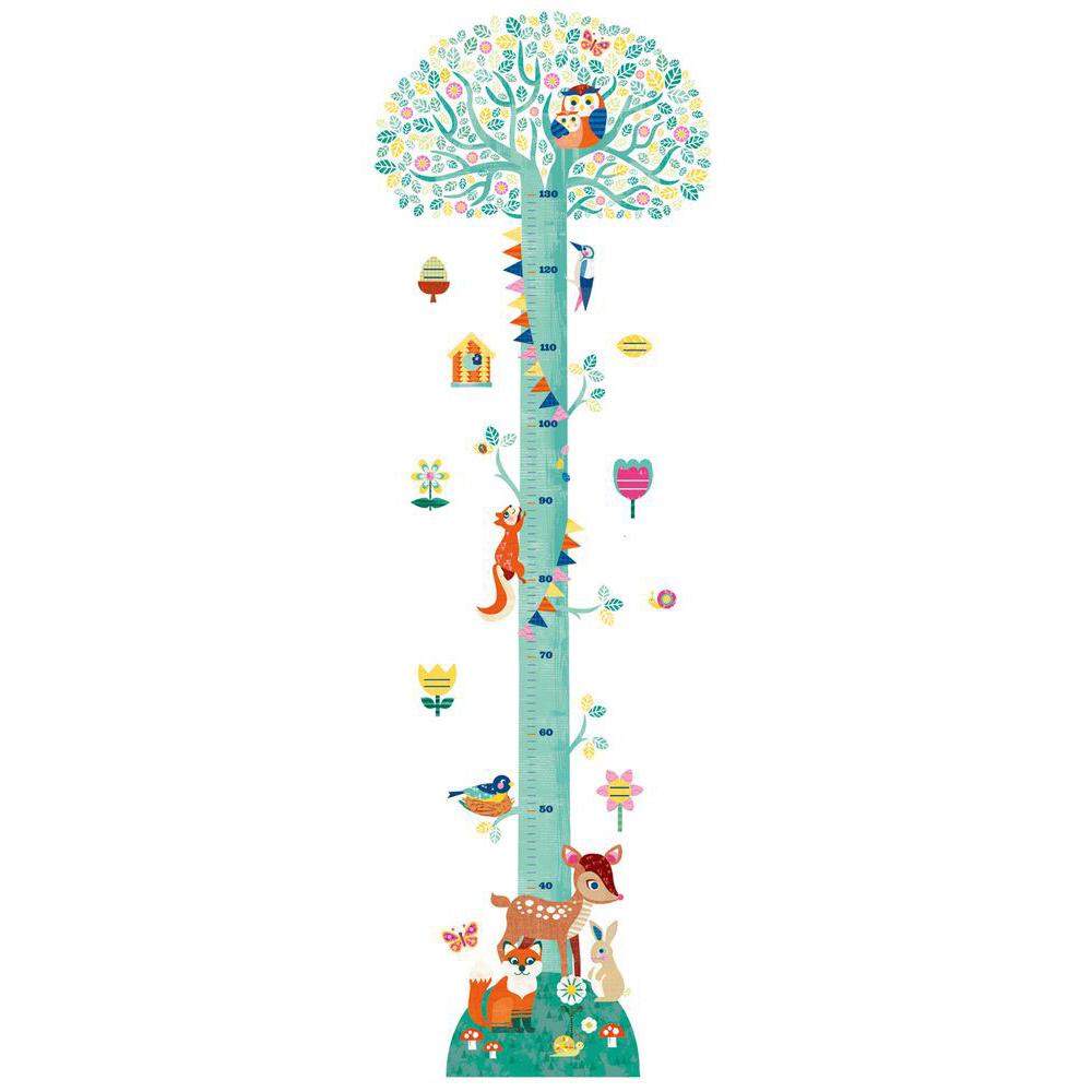 Ростомер - Цветущее дерево, с наклейками