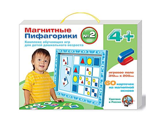 Магнитные Пифагорики: комплекс обучающих игр для детей дошкольного возраста, номер 2Развивающие<br>Магнитные Пифагорики: комплекс обучающих игр для детей дошкольного возраста, номер 2<br>