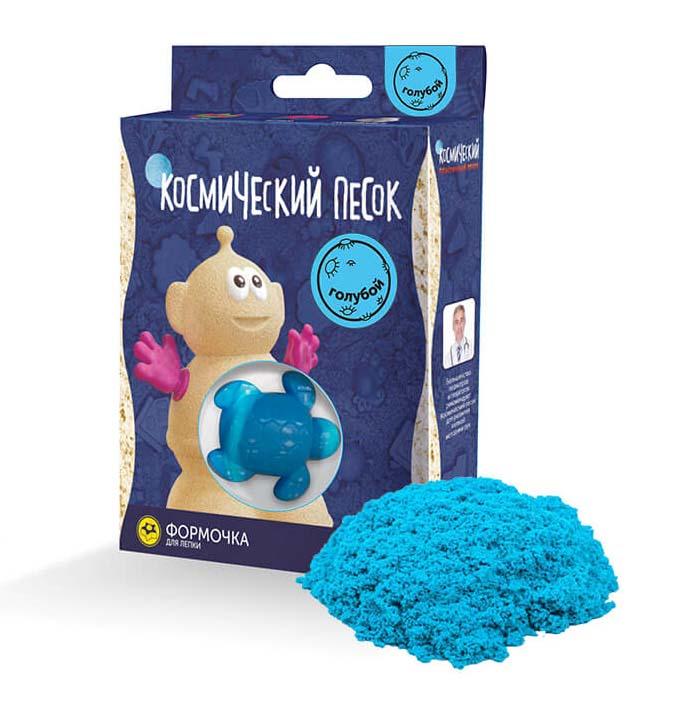 Купить Космический песок и формочка, голубой, 150 г, Волшебный мир