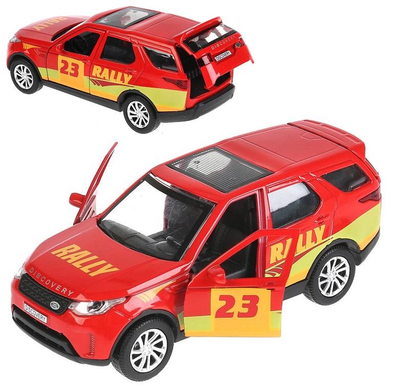 Купить Машина металлическая Land Rover Discovery Спорт, длина 12 см, открываются двери, инерционная, Технопарк
