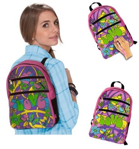 Рюкзак с 5 перманентными маркерами