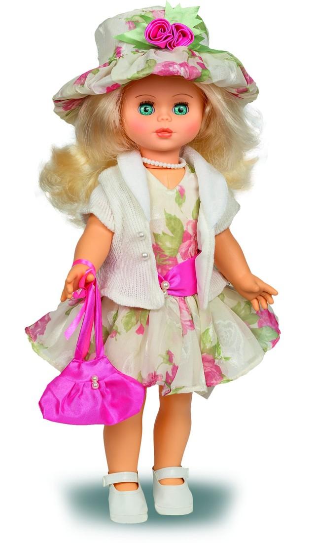 Кукла Оля 12 со звуковым устройством, 44 смРусские куклы фабрики Весна<br>Кукла Оля 12 со звуковым устройством, 44 см<br>