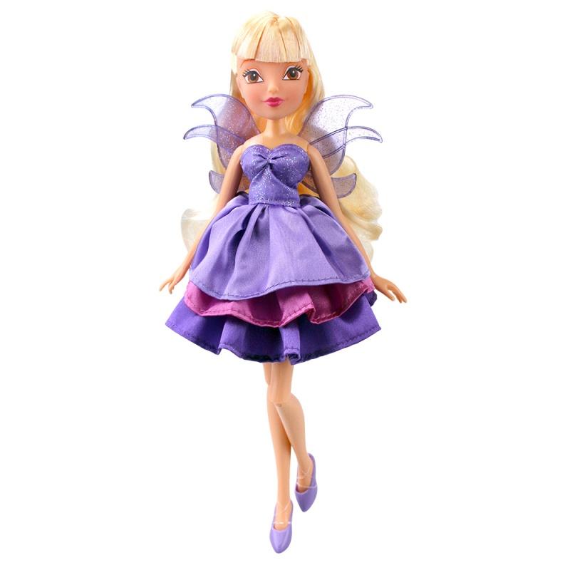Кукла Winx Club - Волшебное платье, StellaКуклы Винкс (Winx)<br>Кукла Winx Club - Волшебное платье, Stella<br>