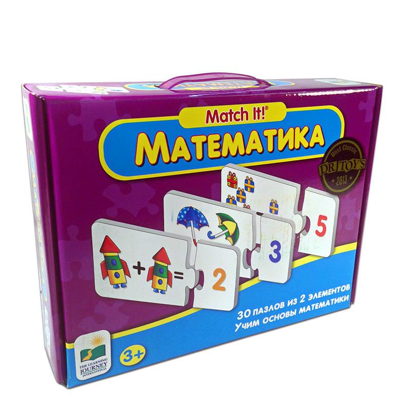Пазл «Математика» - 30 пазлов из 2-х элементовПазлы для малышей<br>Пазл «Математика» - 30 пазлов из 2-х элементов<br>