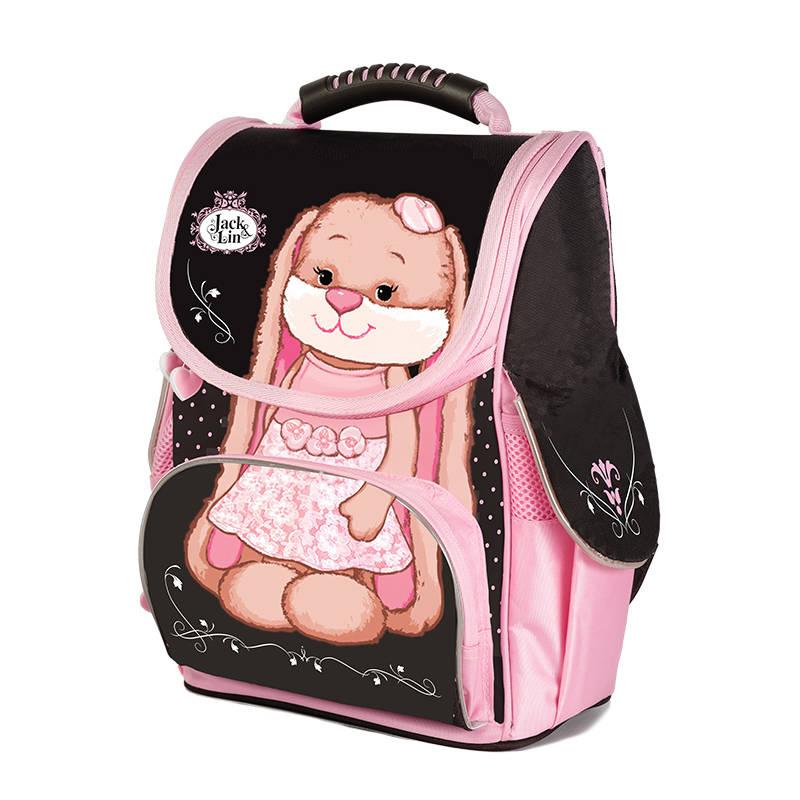 Рюкзак - Зайка Лин в розовом платьеШкольные рюкзаки<br>Рюкзак - Зайка Лин в розовом платье<br>