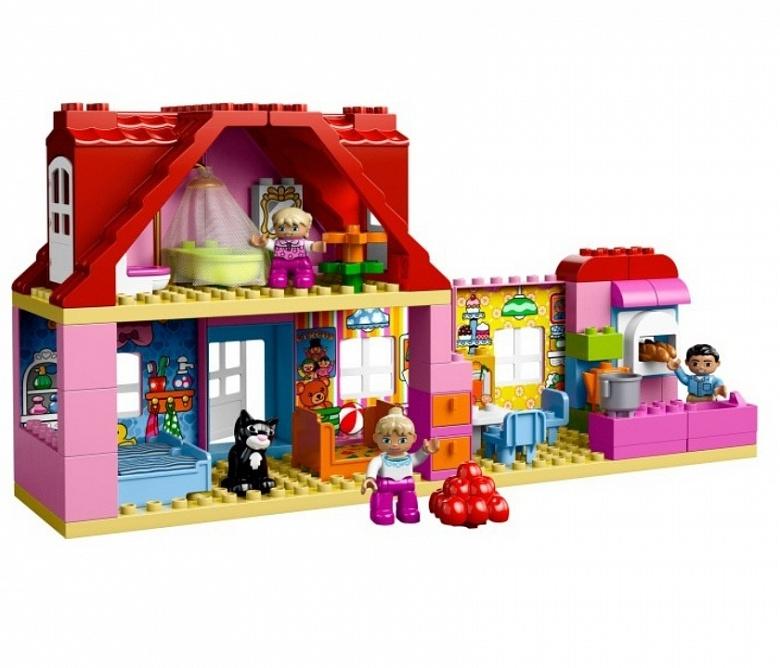 Lego duplo town кукольный домик