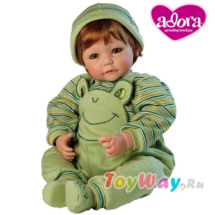 Кукла - Лягушачья радость - мальчик, 51 смКуклы Адора<br>Кукла - Лягушачья радость - мальчик, 51 см<br>