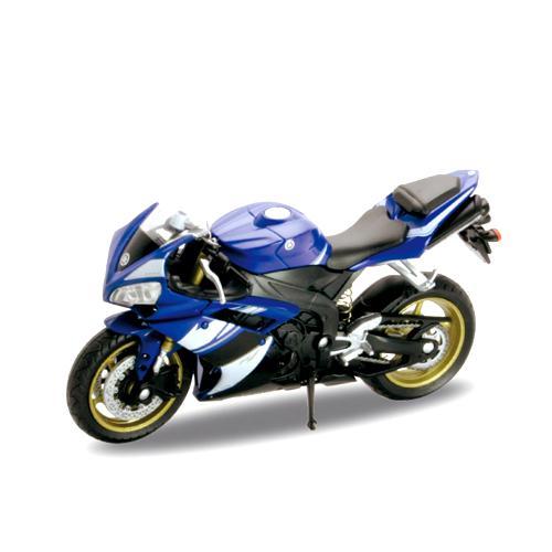 Металлический мотоцикл Yamaha YZF-R1, масштаб 1:18Мотоциклы<br>Металлический мотоцикл Yamaha YZF-R1, масштаб 1:18<br>