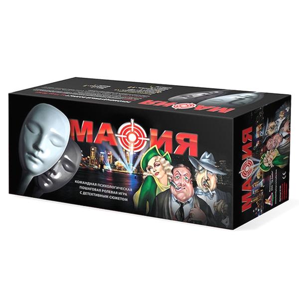 Настольная игра - Мафия, набор подарочный в коробкеМафия<br>Настольная игра - Мафия, набор подарочный в коробке<br>