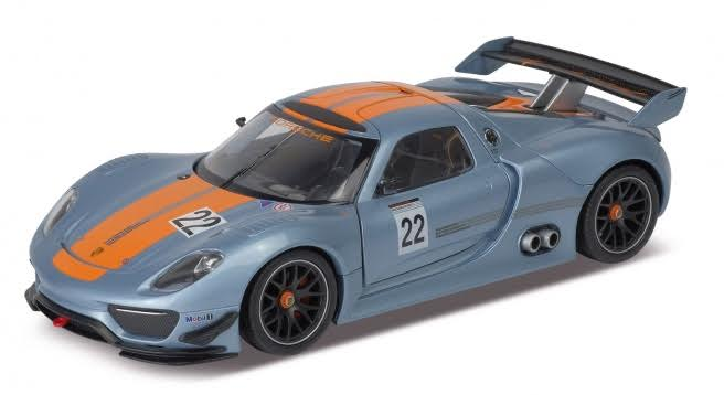 Модель машины Porsche 918 RSR, 1:24Porsche<br>Модель машины Porsche 918 RSR, 1:24<br>