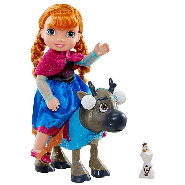 Игровой набор - кукла Принцесса Анна, Свен и ОлафКуклы холодное сердце<br>Игровой набор - кукла Принцесса Анна, Свен и Олаф<br>