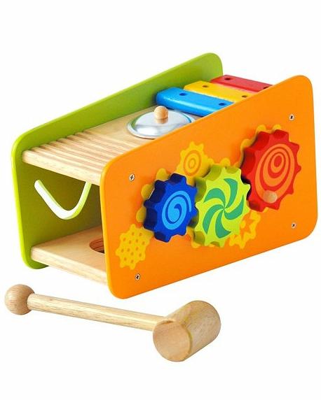 Развивающая игрушка-стучалкаРазвивающие центры<br>Развивающая игрушка-стучалка<br>