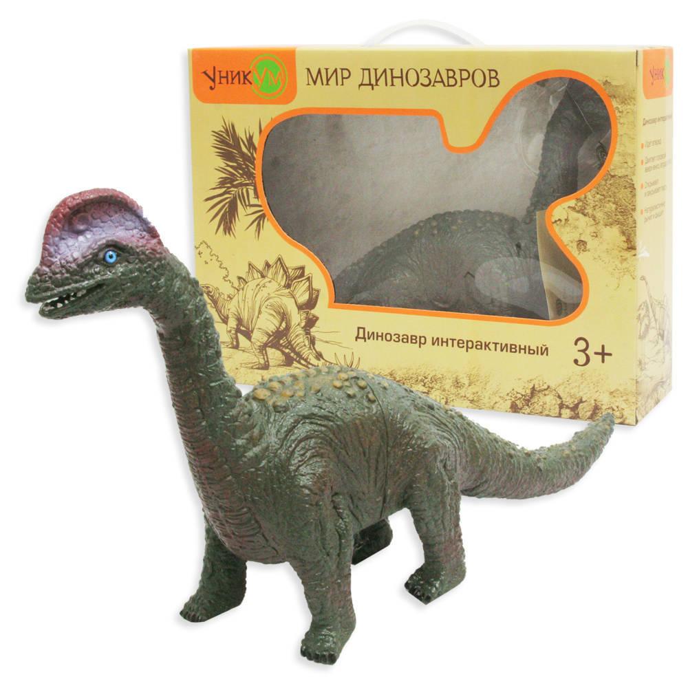 Интерактивный динозавр - Брахиозавр, 38 смИнтерактивные животные<br>Интерактивный динозавр - Брахиозавр, 38 см<br>