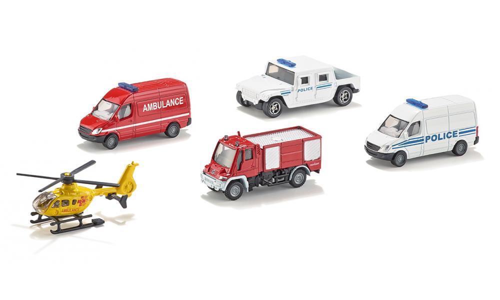 Подарочный набор №9 - Служба спасенияСамолеты, службы спасения<br>Подарочный набор №9 - Служба спасения<br>