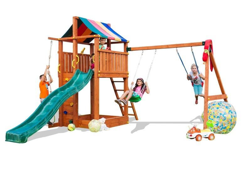 Игровой набор для детской площадки - Детские игровые горки, артикул: 164785