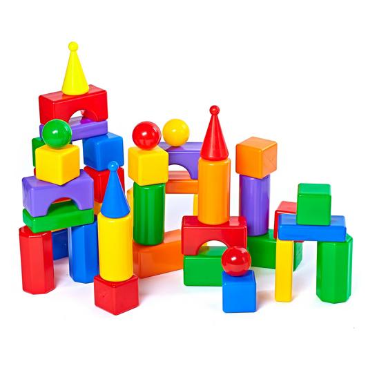 Строительный набор - Стена-2, 43 элементаКонструкторы других производителей<br>Строительный набор - Стена-2, 43 элемента<br>