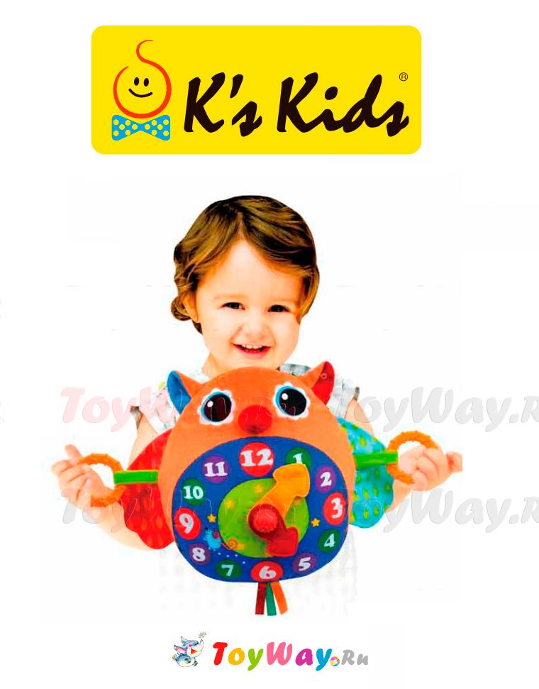 Часы СоваРазвивающие игрушки K-Magic от KS Kids<br>Часы Сова<br>