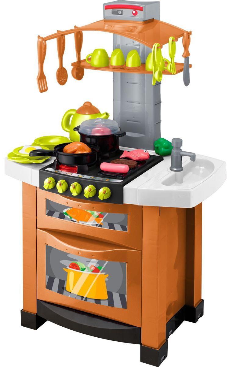Кухня электронная Smart с посудой и техникойДетские игровые кухни<br>Кухня электронная Smart с посудой и техникой<br>