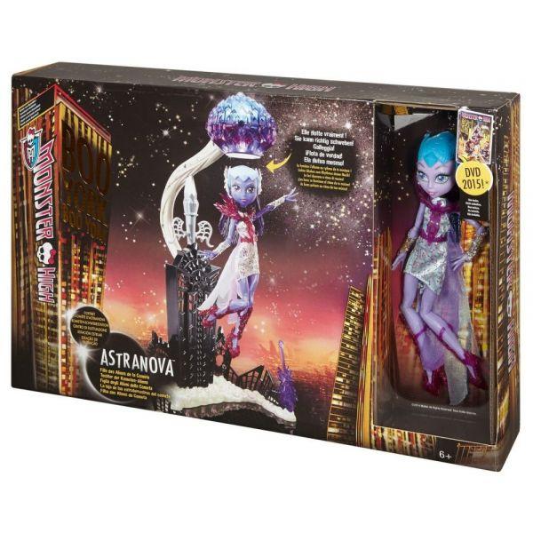 Monster High® Кукла «Астра Нова» c игровым наборомКуклы Ever After High и Monster High<br>Monster High® Кукла «Астра Нова» c игровым набором<br>