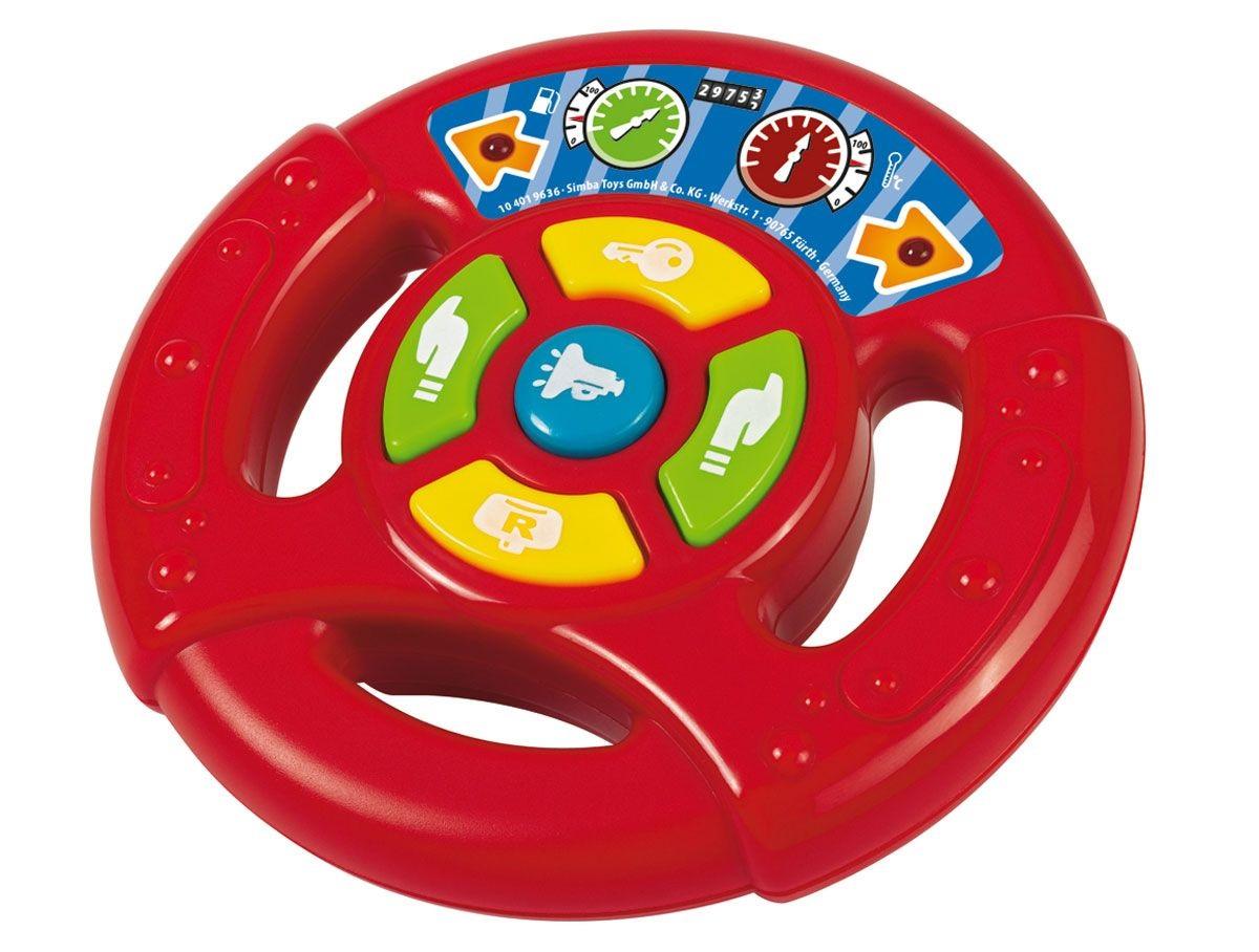 Руль игровой, свет и звукРазвивающие игрушки Simba Baby<br>Руль игровой, свет и звук<br>