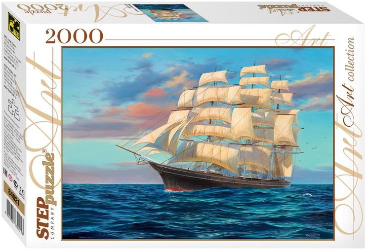 Купить Пазл Парусник, 2000 элементов, Step Puzzle