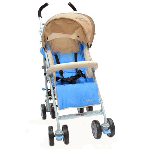 Купить Коляска-трость Polo 107, Light Blue, Baby Care