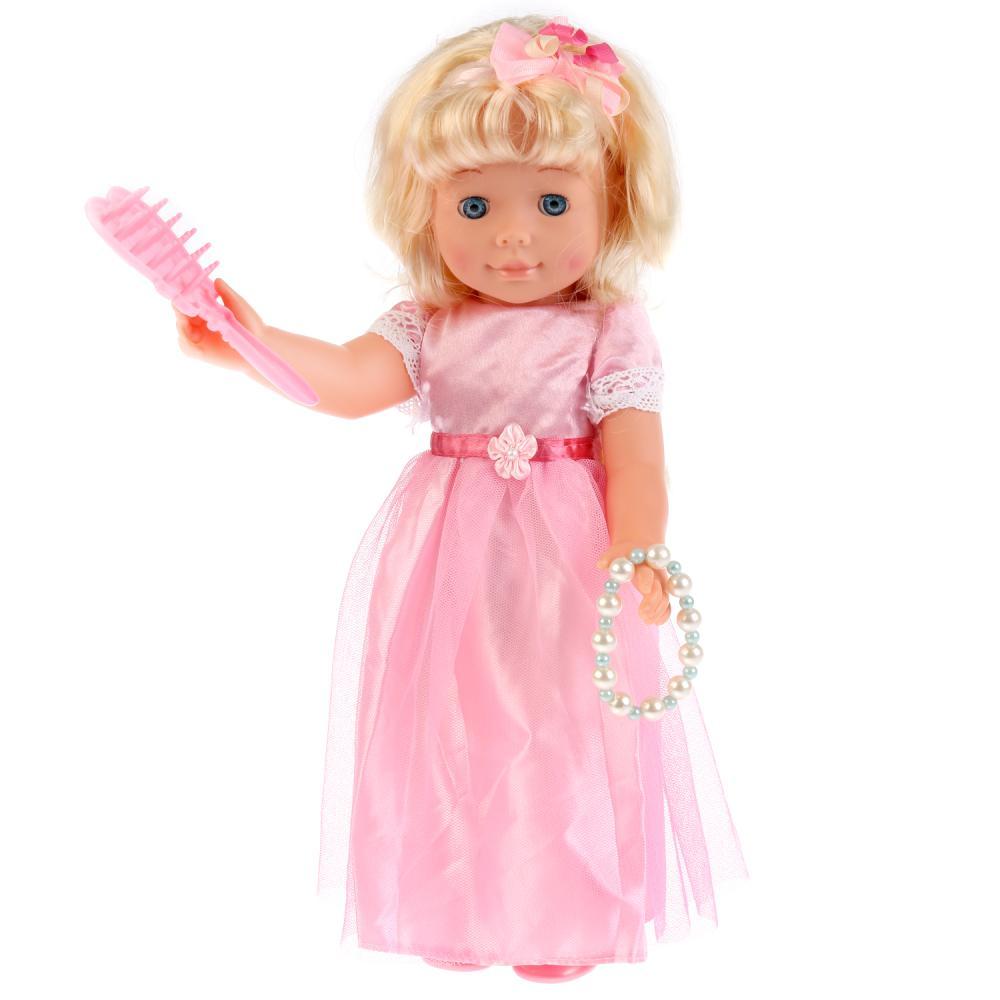 Купить Кукла Анна 40 см, с аксессуарами, Карапуз