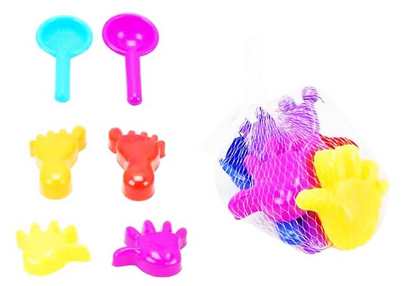 Купить Набор для игр с песком из серии Лучик, 6 предметов, ABtoys