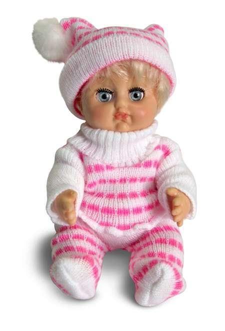Кукла Любочка 1, высотой 21 смРусские куклы фабрики Весна<br>Кукла Любочка 1, высотой 21 см<br>
