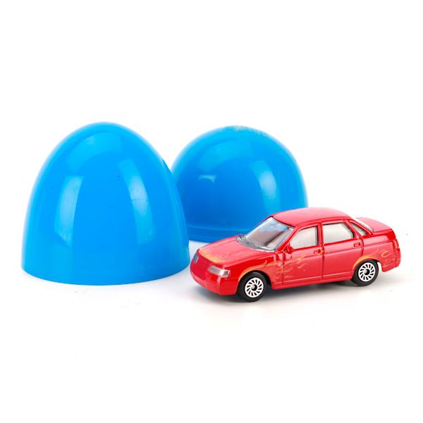 Купить со скидкой Модели машин металлические, 1:72, в яйце