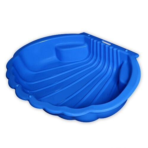 Купить Песочница - Ракушка 2075, синий, Dohany