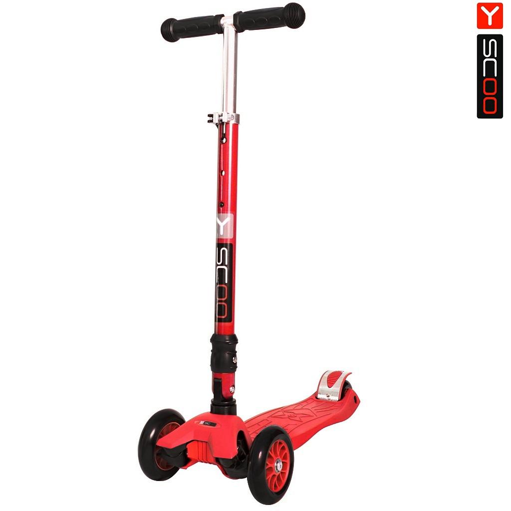 Купить Самокат Y-Scoo 35 Maxi Fix Simple, red