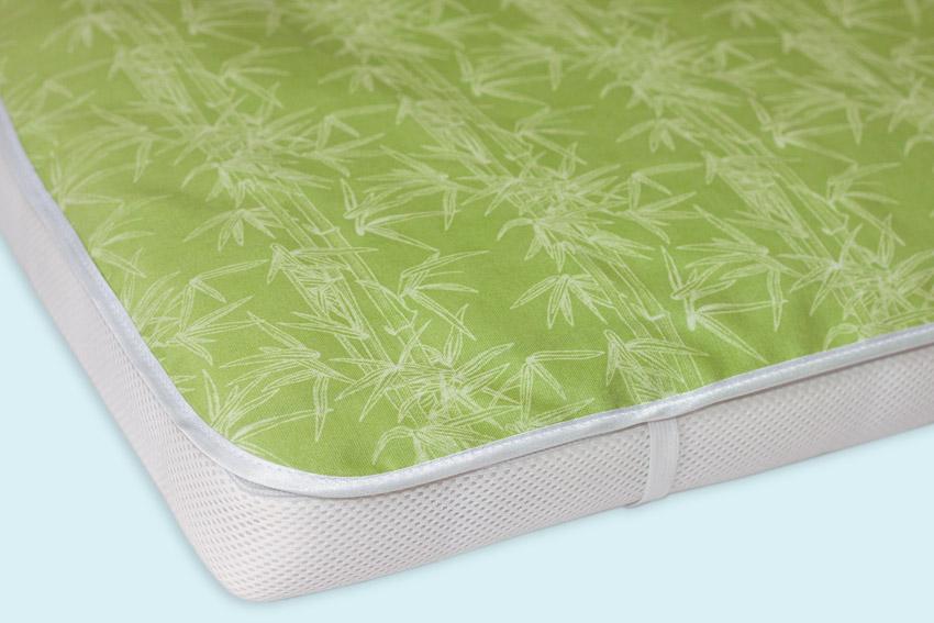 Трехслойная непромокаемая пеленка на резинке
