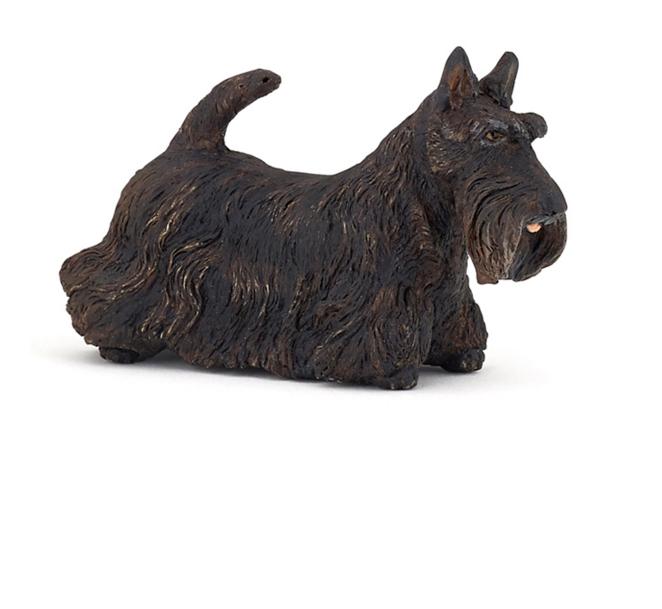 Фигурка - Черный шотландский терьерСобаки и щенки (Dogs &amp; Puppies)<br>Фигурка - Черный шотландский терьер<br>