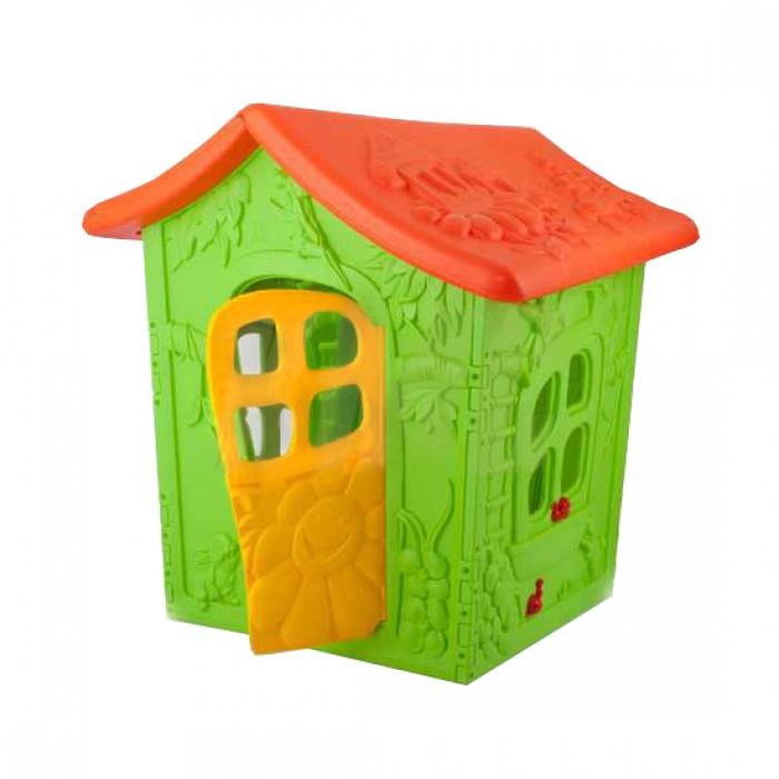 Пластиковый домик ОТ-12, размер 120 х 130 см. фото