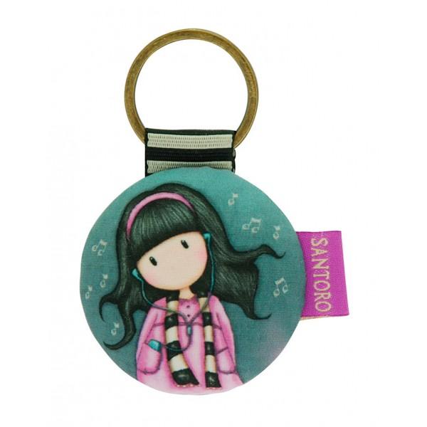 Купить Держатель для ключей круглый - Little Song из серии Gorjuss, Santoro London