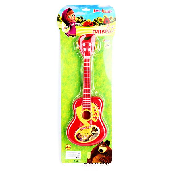 Детская гитара «Маша и медведь»Гитары<br>Детская гитара «Маша и медведь»<br>