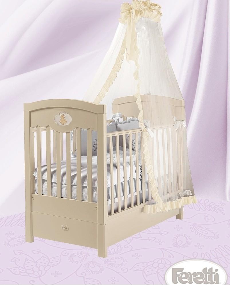 Кровать детская Fms Enchant AvorioДетские кровати и мягкая мебель<br>Кровать детская Fms Enchant Avorio<br>