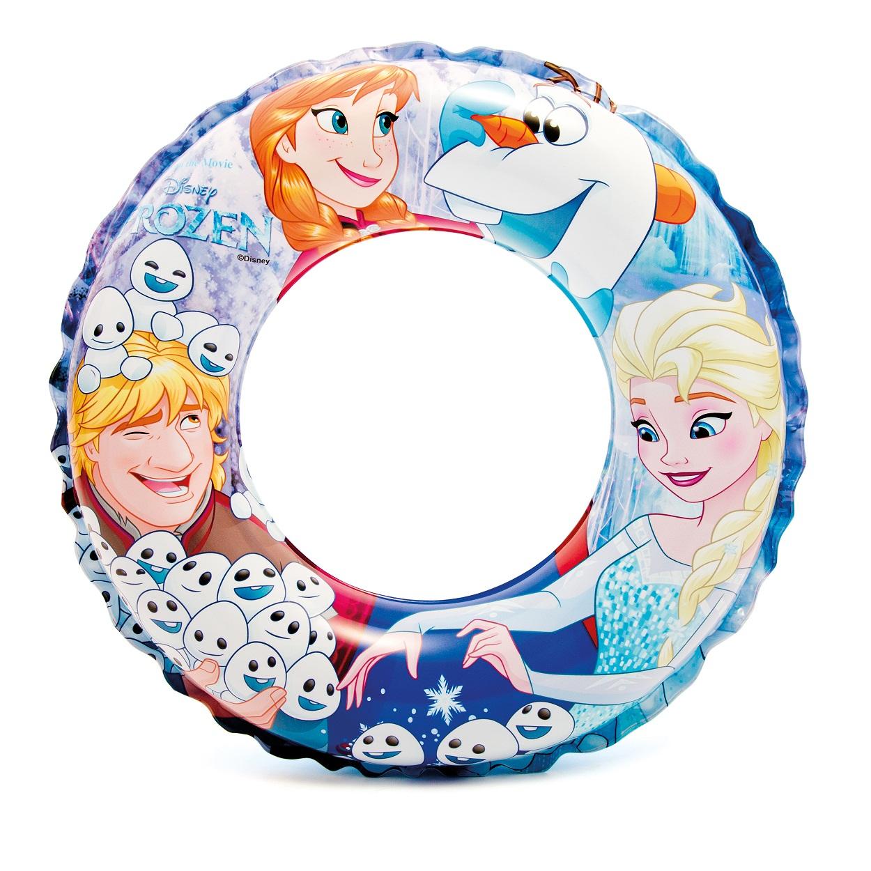 Круг надувной для плавания Disney – Холодное сердце, диаметр 51 смНадувные животные, круги и матрацы<br>Круг надувной для плавания Disney – Холодное сердце, диаметр 51 см<br>
