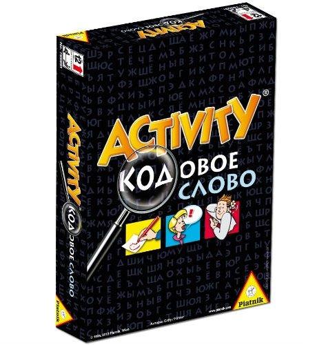 Игра настольная – Activity: Кодовое словоЛогические<br>Игра настольная – Activity: Кодовое слово<br>