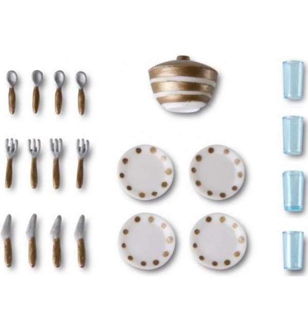 Купить Игровой набор для домика Смоланд - Столовая посуда, Lundby