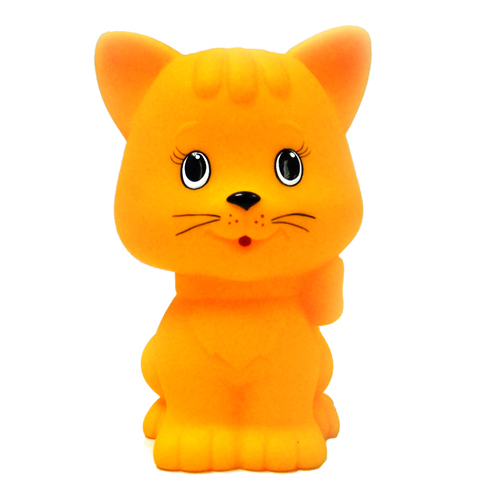 Затейники Игрушка для ванной «Кошечка», 12 см, в сетке