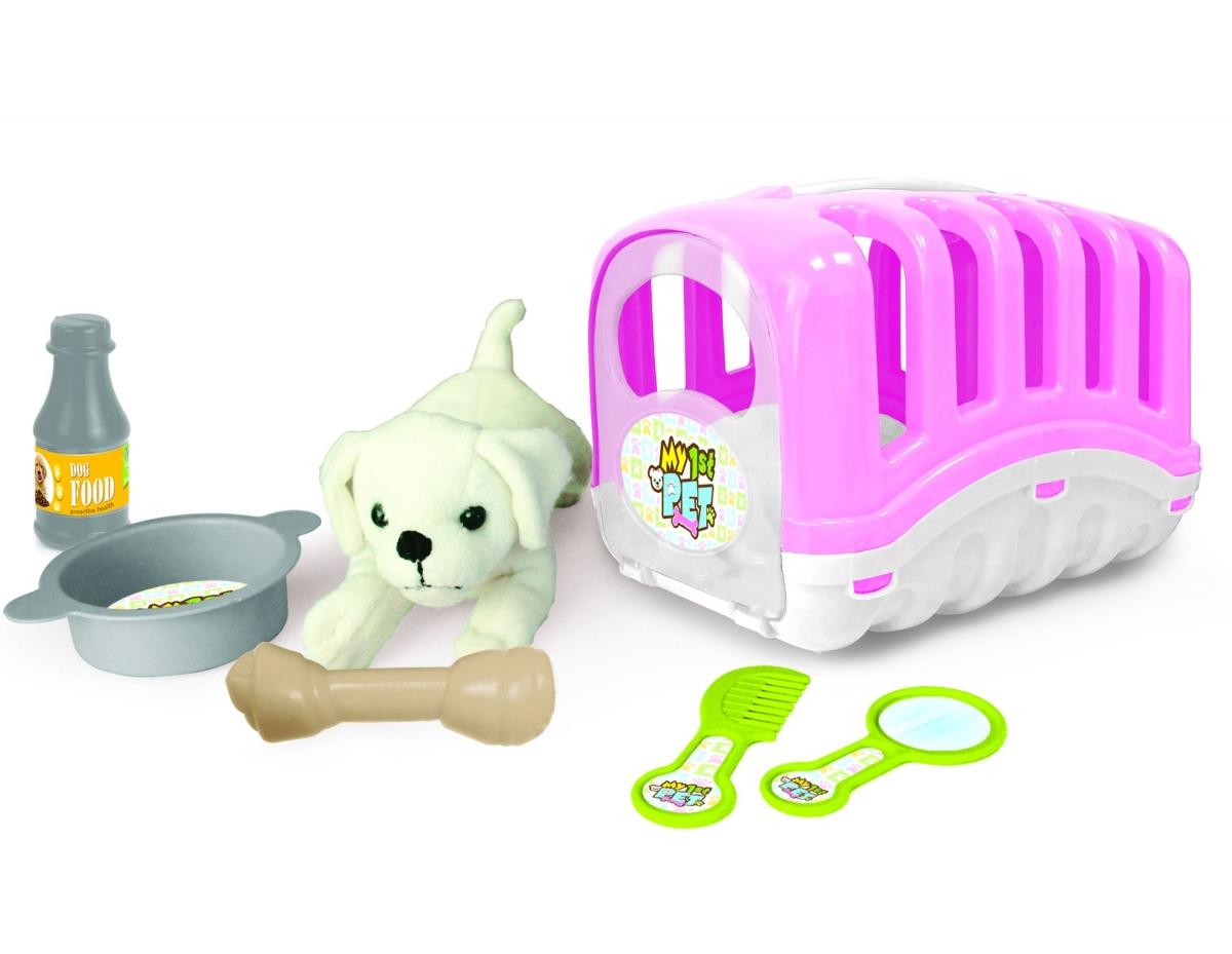 Купить Игровой набор - Мой Любимый щенок, розовый, Dolu
