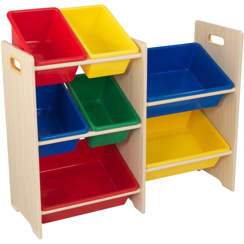 Купить Система хранения с 7 контейнерами, яркий, KidKraft