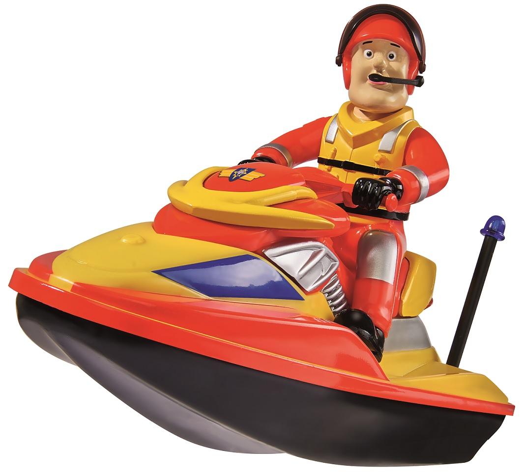 Водный скутер на батарейках из серии «Пожарный Сэм»Пожарный СЭМ<br>Водный скутер на батарейках из серии «Пожарный Сэм»<br>