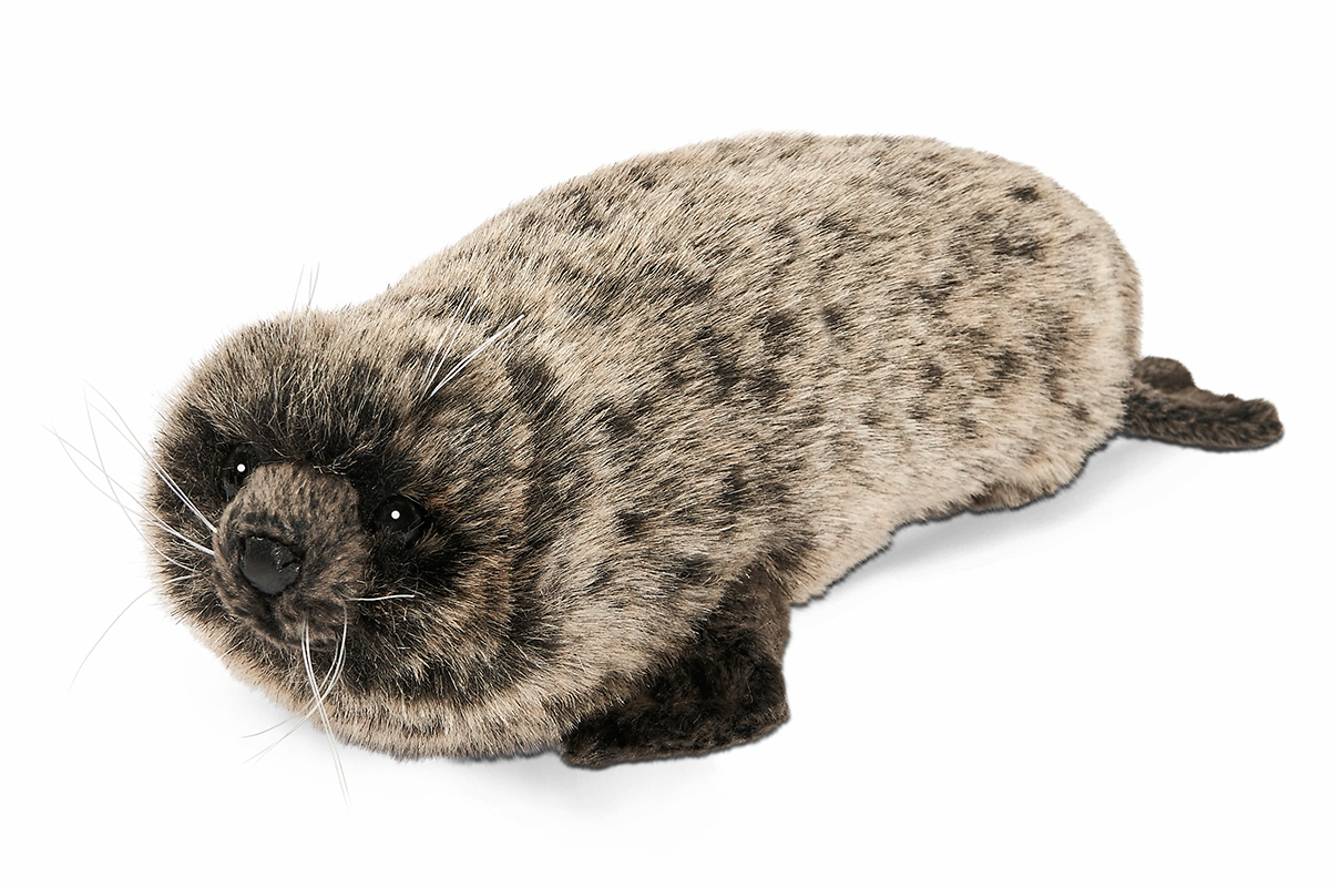 Мягкая игрушка - Тюлень-монах, 26 см.Дикие животные<br>Мягкая игрушка - Тюлень-монах, 26 см.<br>